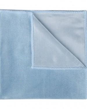 blue glass cloth